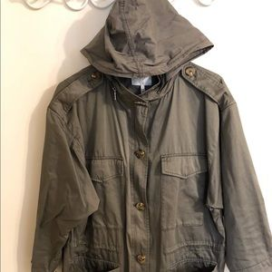 Joie size M army green all weather jacket